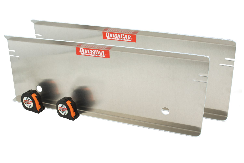 QuickCar Racing Products 64-704 Aluminum Toe Plate Set
