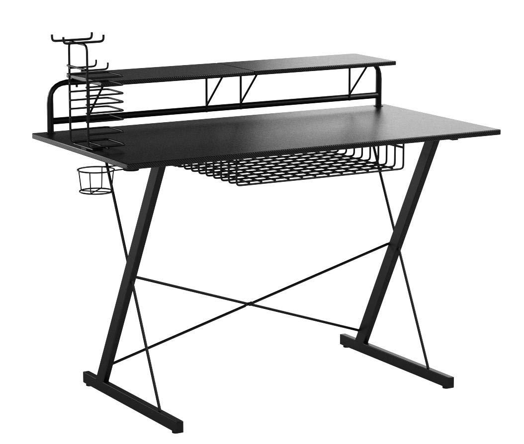 Techni Sport Carbon Gaming Desk by Techni Mobili