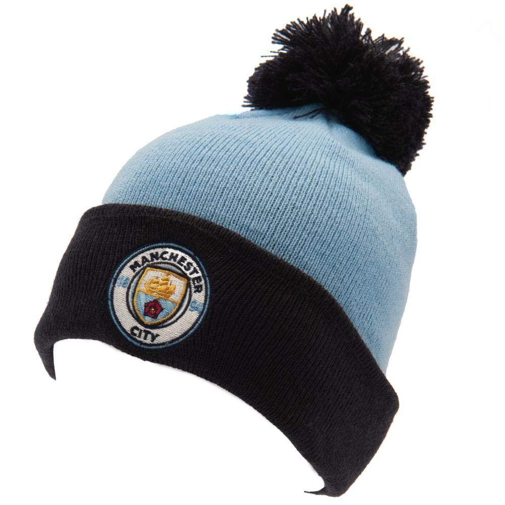 Manchester City FC Authentic EPL Knit Ski Hat
