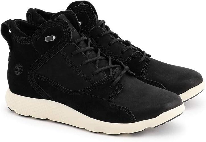 carne de vaca Por encima de la cabeza y el hombro Fuerza  Timberland Flyroam Leather Hiker Botines/Low Boots Hombres Negro Botas De Caña  Baja Shoes: Amazon.es: Zapatos y complementos
