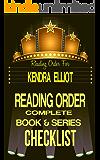KENDRA ELLIOT: SERIES READING ORDER & BOOK CHECKLIST: INCLUDES BOOK LISTS FOR SERIES: BONE SECRETS, CALLAHAN & McLANE, ROGUE RIVER, ROGUE WINTER & MORE! ... Authors Reading Order & Checklists 34)