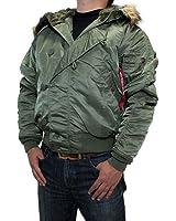 アルファ ジャケット ALPHA INDUSTRIES (アルファ インダストリーズ) メンズ N-2B フライトジャケット ジャケット N 2B ジャケット アルファ ジャケット フライト ジャケット 全3色 MJN30000