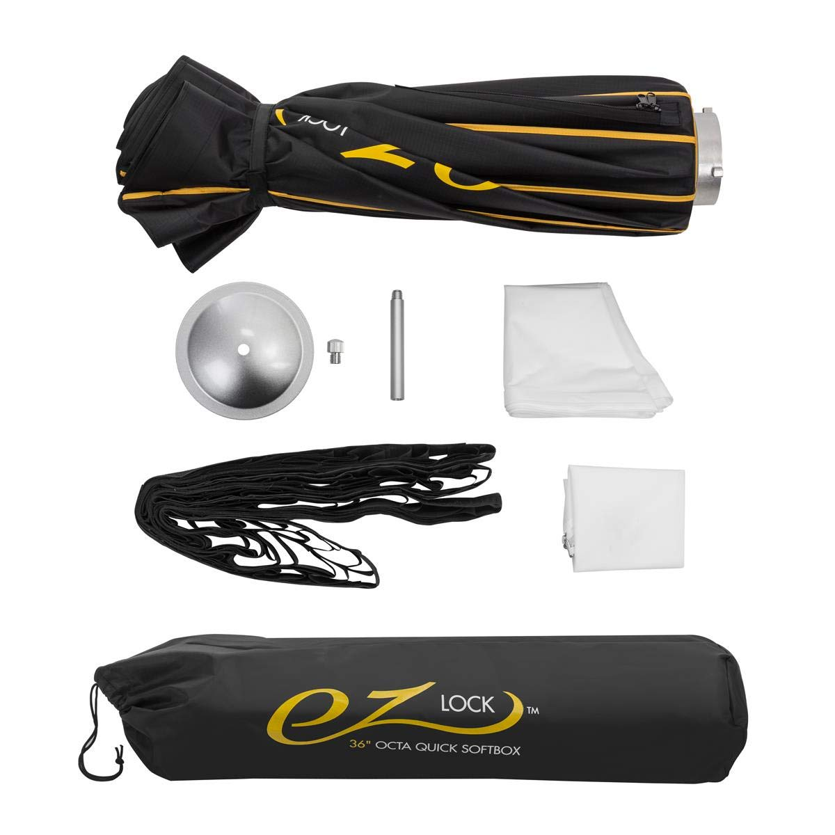 Glow EZ Lock Quick Octa Large Softbox with Bowens Mount (36'') by Glow