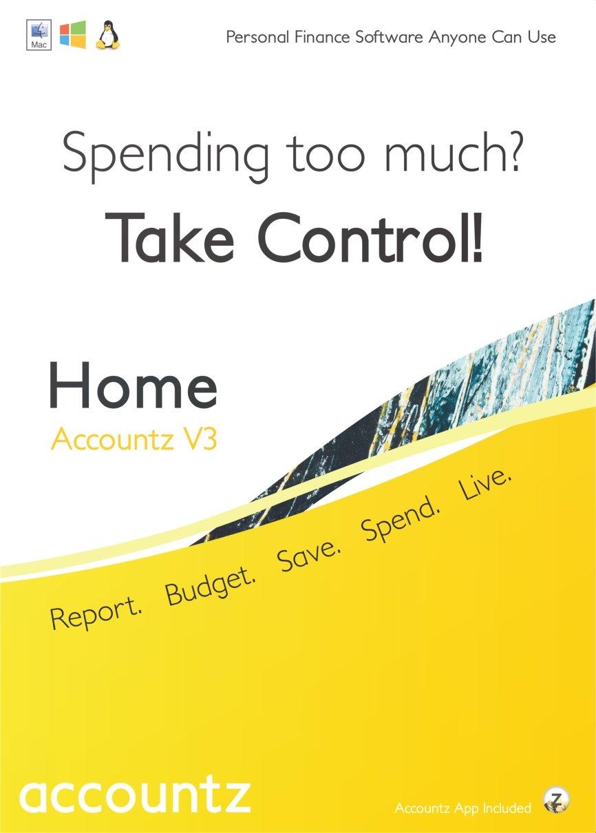 Home Accountz V3 for Mac [Download] by Accountz.com LTD