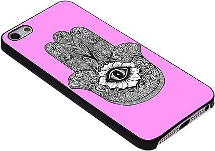 mauvais œil Hamsa Rose bonbon pour iPhone Coque (iPhone 6S Plus ...