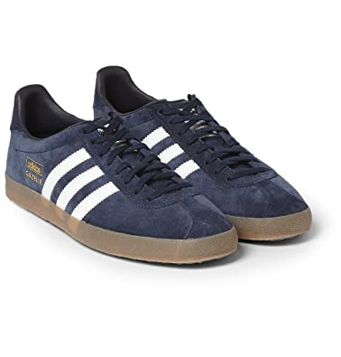 adidas Originals Gazelle OG Suede and Leather Sneakers  Amazon.co.uk  Shoes    Bags 40907a0a1