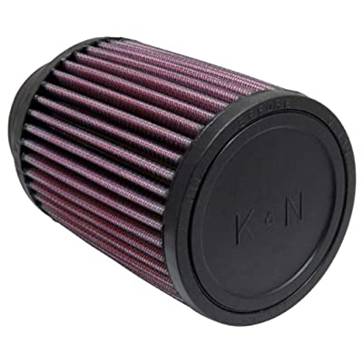 K&N Universal Clamp-On Air Filter: High Performance, Premium, Washable, Replacement Engine Filter: Flange Diameter: 2.75 In, Filter Height: 5 In, Flange Length: 1 In, Shape: Round, RU-1460: Automotive