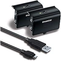 Kit Dreamgear com cabo USB e 2 baterias para carga do Xbox One DGXB1-6608
