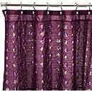 Popular Bath Sequins Shower Curtain, Purple