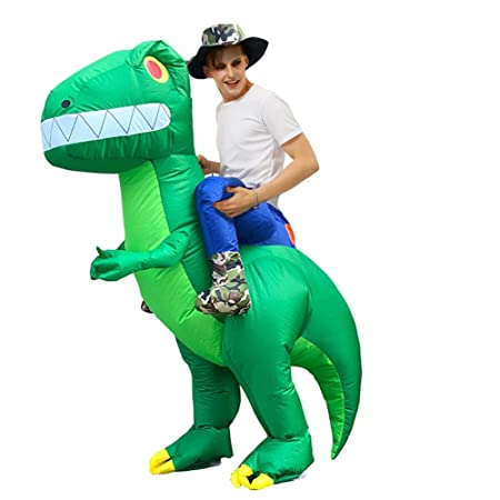 kingpo Disfraz de Dinosaurio Inflable, Disfraz de Cosplay ...