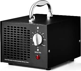 COSTWAY Generador de Ozono 5000mg / h Profesional Ozonizador Purificador de Aire Función de Temporizador: Amazon.es ...