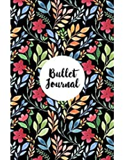 Bullet Journal: My Bujo Dotted Matrix Softcover Notebook and Planner, Numbered Pages, Bullet Dot Grid Journal and Sketch Book