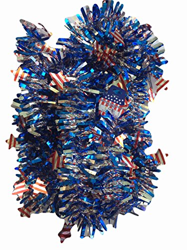 Patriotic Garland Set of 2 - 18 Ft. X 2 1/2