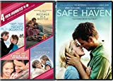 The Notebook + Safe Haven Romance Movies DVD A walk to Remember / Nights in Rodanthe / Message in a Bottle Set Double Love Twice as Much 5 movie pack