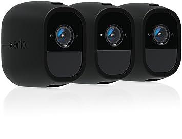 3-Pack Genuine ARLO NetGear Black Silicon Skin Cover PRO PRO 2 Security Camera