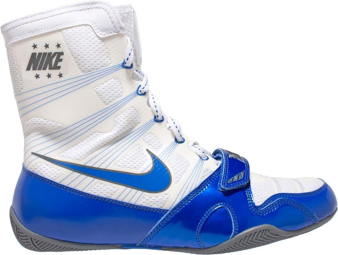 Nike HyperKO Boxing Shoes (White/Blue