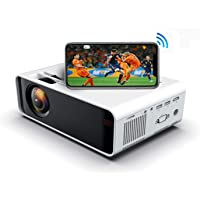 SOTEFE® Mini LED Projector Portable 6000 Lumens-WiFi Video Projectors 1080P Full HD For iPhone Samsung Smartphone…>