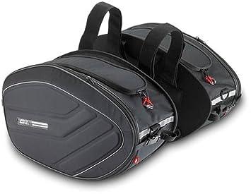 Givi EA100 Alforjas Laterales Grandes Expandibles: Amazon.es: Coche y moto