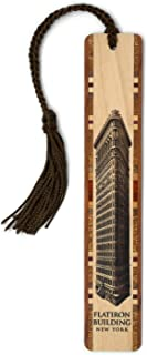 product image for Flatiron Building in New York City Handmade Wooden Bookmark with Tassel