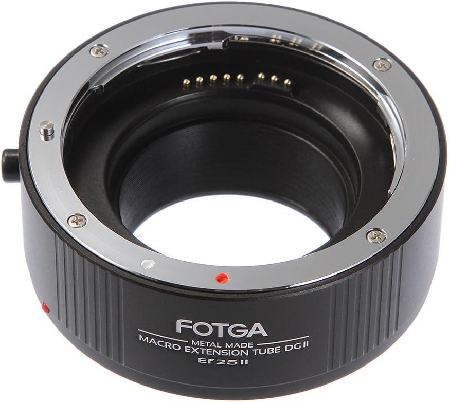 Fotga Metal Automatic Macro Extension Tube 25mm For Camera Photo