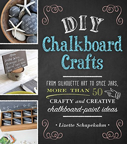 DIY Chalkboard Crafts: From Silhouette Art to Spice Jars, More Than 50 Crafty and Creative Chalkboard-Paint Ideas]()