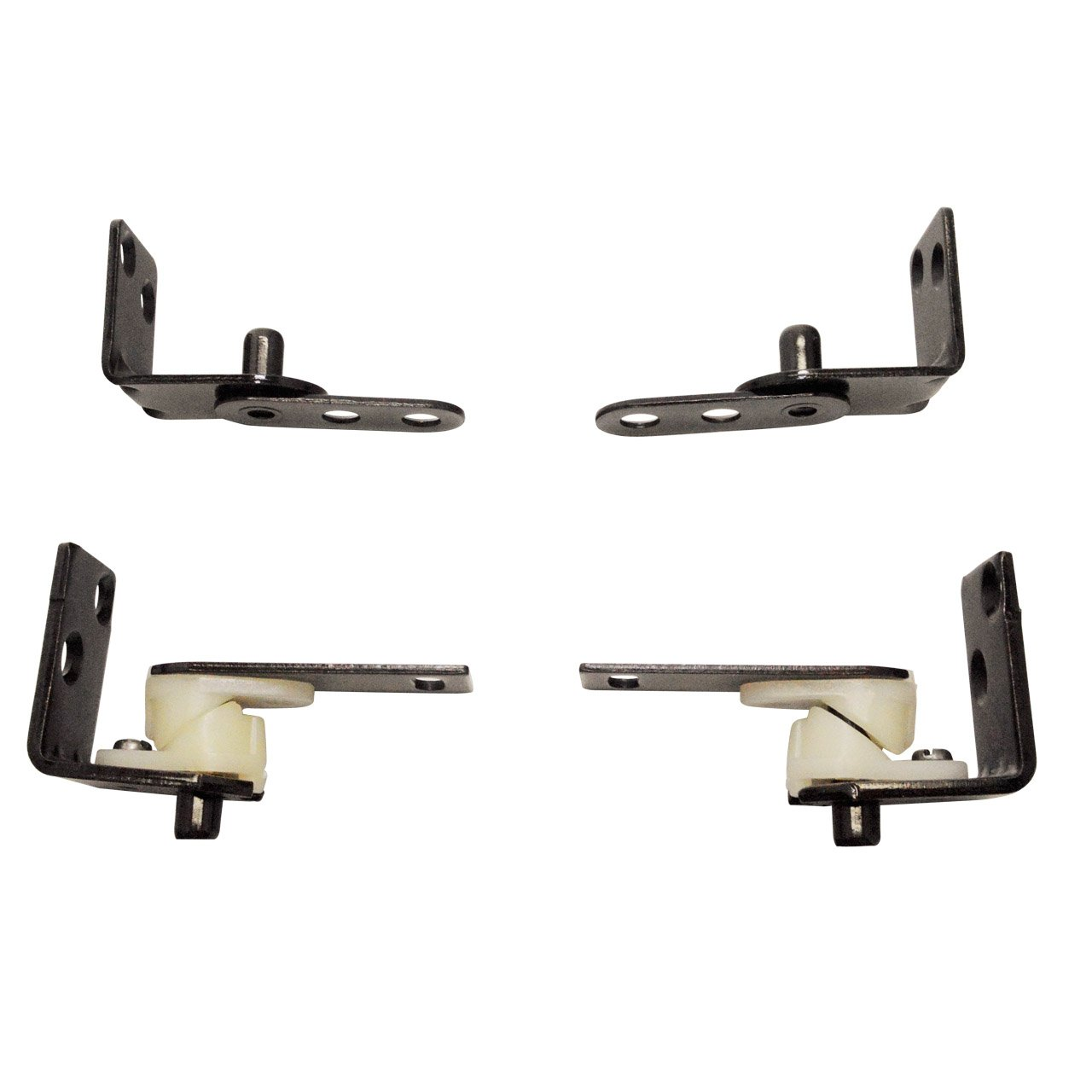 Gate Hinges | Hardware Double Acting Gravity Oil Rubbed Bronze Finish by SwingingCafeDoors