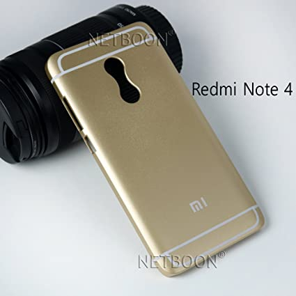 newest e220e 65d10 NETBOON® Xiaomi Redmi Note 4 Back Cover, Attractive Look Best Protection  Back Case for Xiaomi Redmi Note 4 - Gold