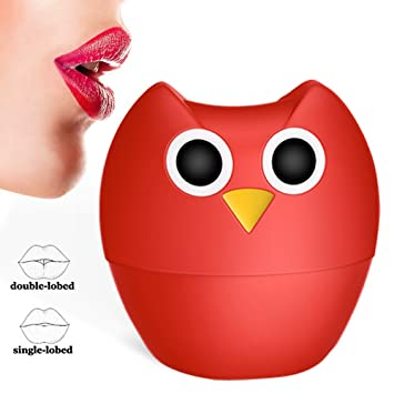 Lip Plumper Enhancer - MEXITOP NANA Owl Soft Silicone Lip Filler Plumping  Device, Natural Fuller