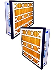 """Filtration Manufacturing Practical Pleated Air Filter (2-Pack) - 24"""" x 24"""" x 5"""""""