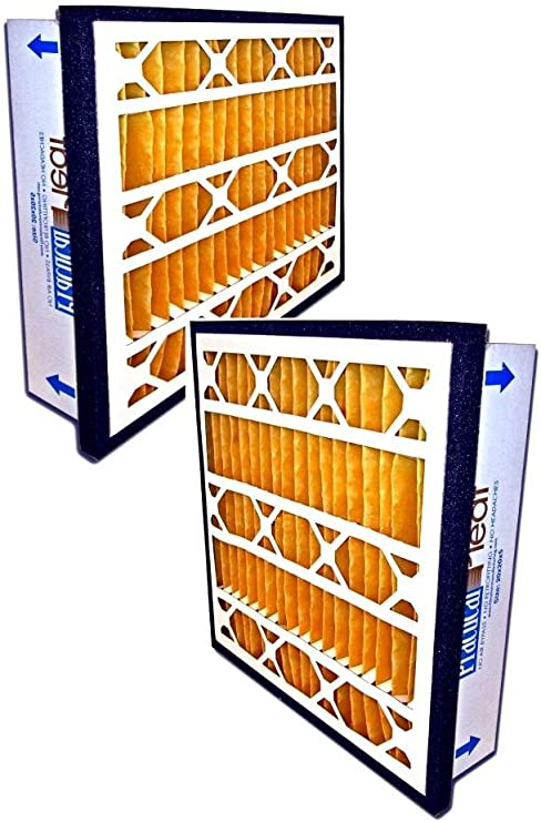 2-Pack Filtration Manufacturing Practical Pleated Air Filter 24 x 24 x 5