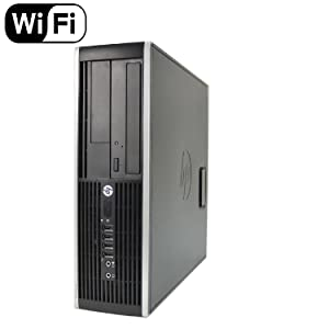 HP Elite 8300 Small Form Factor Desktop Computer PC (Intel Quad Core i5-3570 3.4GHz Processor, 16GB RAM, 2TB HDD, WiFi, USB 3.0) Windows 10 Professional (Renewed)
