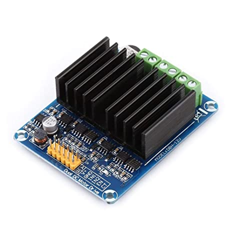 akozon motor driver module 1pc dc5 12v 0a 30a dual channel h bridge rh amazon ca