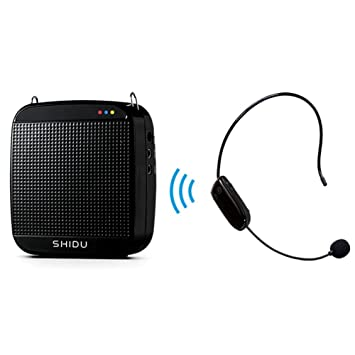 Amplificador de voz SHIDU SD-S613 (18 W) con batería de litio de