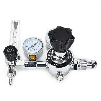 Regulador de gas WX-983-5//8 regulador de presi/ón de arg/ón WX-983-5//8 G5 // 8 CGA580 para soldadura TIG industrial