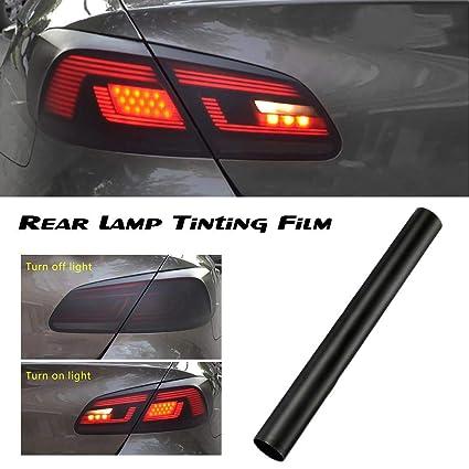 Luckybaby 30150cm Matt Smoke Light Film Rear Lamp Tinting Film Car Matte Black Tint Headlight Taillight Car-Styling Fog Light Vinyl Film