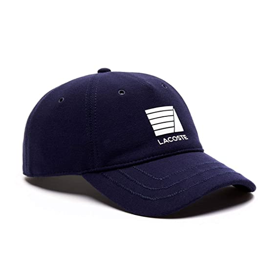 e427067c01f3 Lacoste Mens Seasonal Pique Cap - Navy Blue - One Size  Amazon.co.uk   Clothing