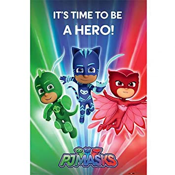 Official Licensed PJ Masks - Poster (Hero #214)