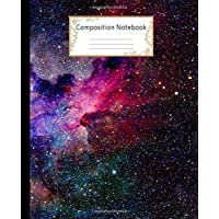 Composition Notebook: Wide Ruled Lined Paper Notebook Journal: Galaxies Workbook for Girls Kids Teens Students for Back to School and Home College Writing Notes