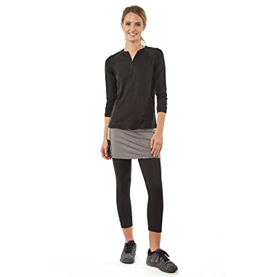 Color Block Mini Snoga Modest Athleisure Skirt With Pockets