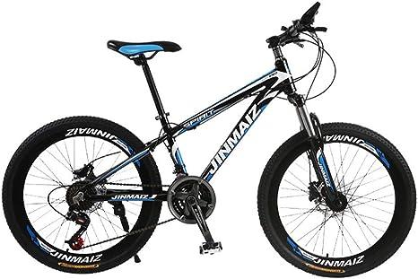 Bicicleta De Montaña 27 Velocidades Doble Freno Disco Freno Disco Tenedor Resorte Aleación Aluminio Bicicleta Montaña Damas Bicicleta 24 26 Pulgadas: Amazon.es: Deportes y aire libre
