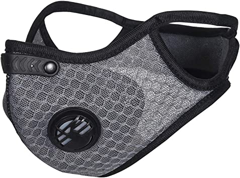 SKYSPER Máscara para Ciclismo con Filtros de Carbono Mascarilla ...