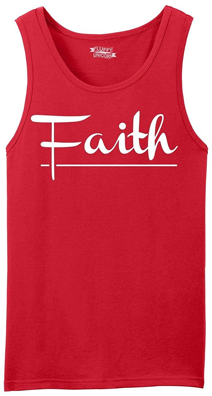 Comical Shirt Mens Faith Tank Top