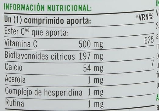 Natures Bounty Ester-C 500 mg Vitamina C - 90 Tabletas: Amazon.es: Salud y cuidado personal