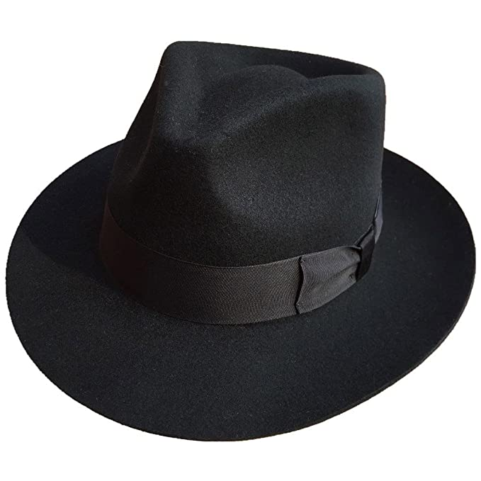 7501d4312 Thriller9 Michael Jackson Fedora Classic MJ Smooth Criminal Men's ...