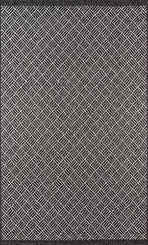 Momeni Rugs COMO0COM-4CHR2030 Como Contemporary Geometric Indoor Outdoor Area, 2'0
