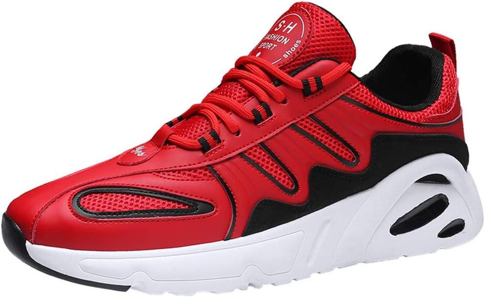 ZODOF zapatillas deportivas hombre Pareja Moda Casual Malla Deporte Ligero Respirable Zapatos para correr Sneakers(42 EU,rojo): Amazon.es: Bricolaje y herramientas