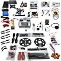 QWinOut Full Set 6-axis Hexacopter Drone Kit: Tarot 680PRO Frame + APM 2.8 Flight Control + 700KV Motor + GPS + AT10 Transmitter with FPV Function by QWinOut