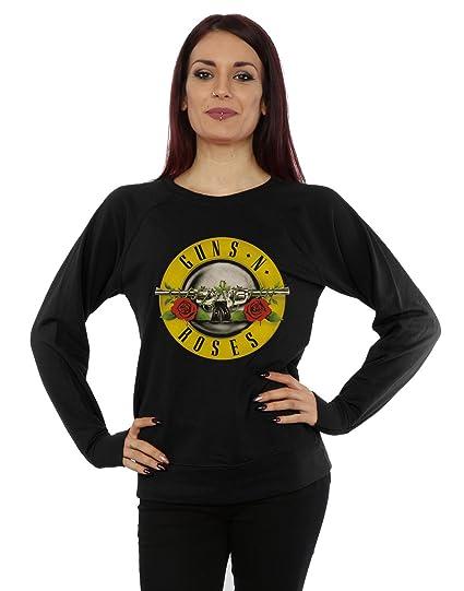 Guns N Roses ni/ñas Bullet Logo Camisa De Entrenamiento