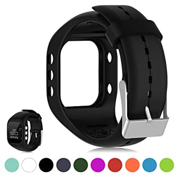 Para Polar A300 Smart Watch Pulsera de repuesto de Fitness Tracker - iFeeker Suave silicona de caucho Watch Band Pulsera Estuche para Polar A300 Smart ...