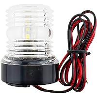 Winbang Marine-bootlamp, 360 ° LED bootlamp jachtnavigatie ankerlichten signaallicht waterdicht spatwaterdicht wit 12 V…